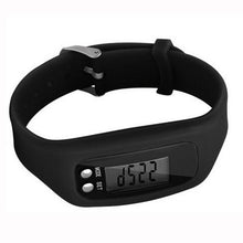 Load image into Gallery viewer, Multifunction Smart Bracelet Pedometer Activity Tracker 5 Digit LED Display Outdoor Sport Wristband Health Watch for Adults