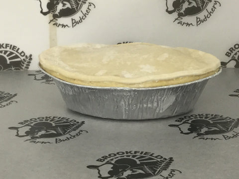 Barbara's Steak Pie,frozen uncooked (each)
