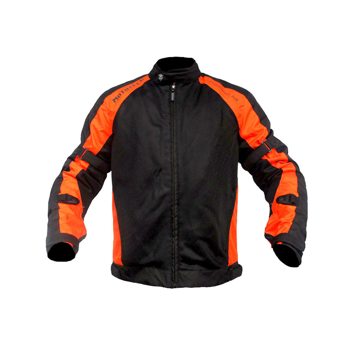 Scrambler Air Motorcycle Riding Jacket - Orange