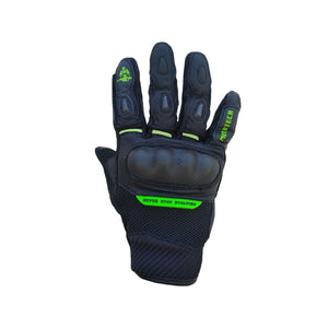 Urbane Short Carbon Gloves - Green