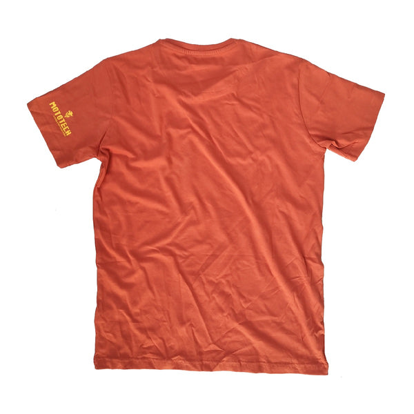 Argon T-shirt - Rust