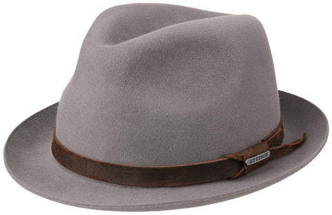 Stetson - Player Vernier Furfelt Light Grey