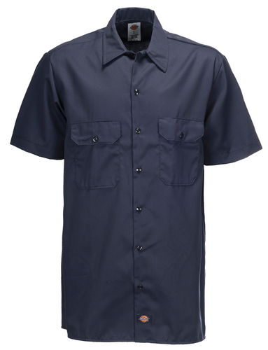 SHORT SLEEVE WORK SHIRT DARK NAVY