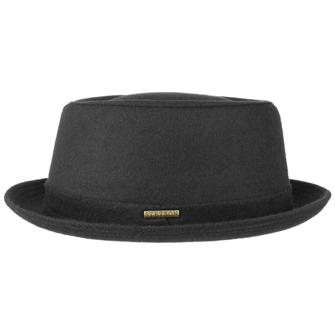 Stetson - Pork Pie Wool Black
