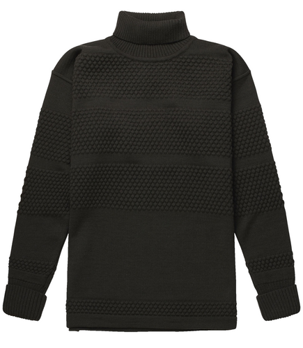 FISHERMAN SWEATER LACQUER GREEN