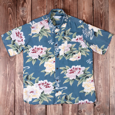 1937 Roamer Shirt Short sleeve Maohu blue P0402-19-0004 / 300