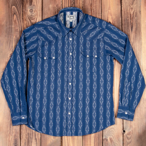 Saw Tooth Shirt Mojave blue