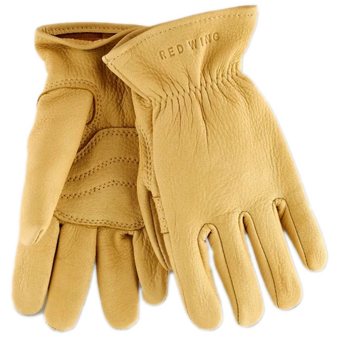 Unlined Buckskin Leather Glove