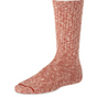 COTTON RAGG SOCK RUST-WHITE
