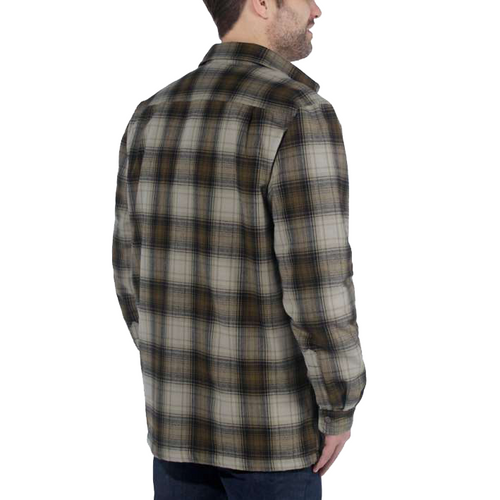 A HUBBARD SHERPA LINED SHIRT JAC RELAXED FIT