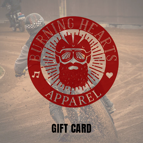 Gift card - Burning Hearts Apparel