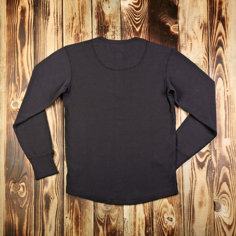 1954 Utility Shirt Long Sleeve faded black P0401-13-0001 / 101