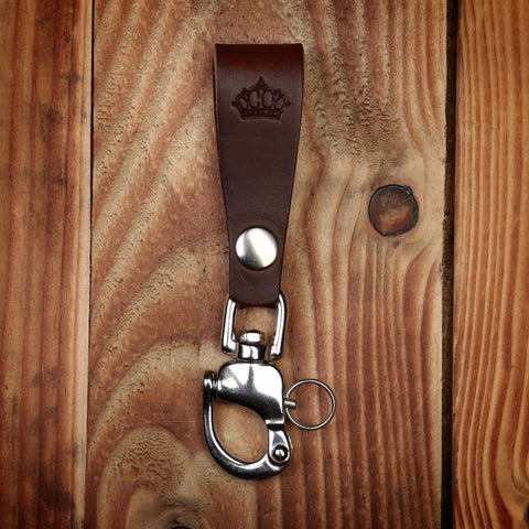 1965 Key Hanger dark brown P0601-11-0002 / 506