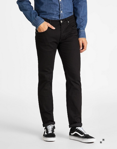 Lee - Daren Jeans Button Fly - Clean Black