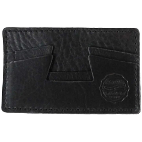 X CREDIT CARD HOLDER BLACK