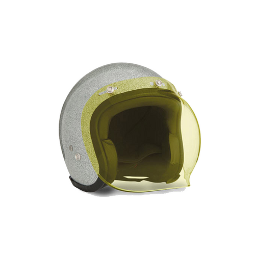 BUBBLE VISOR yellow