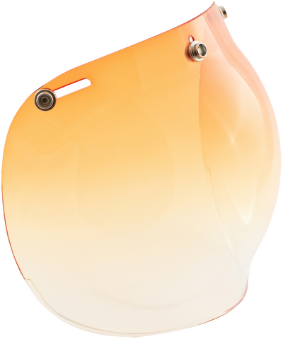 BUBBLE VISOR GRADUATED Orange