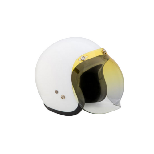 BUBBLE VISOR - GRADUATED YELLOW