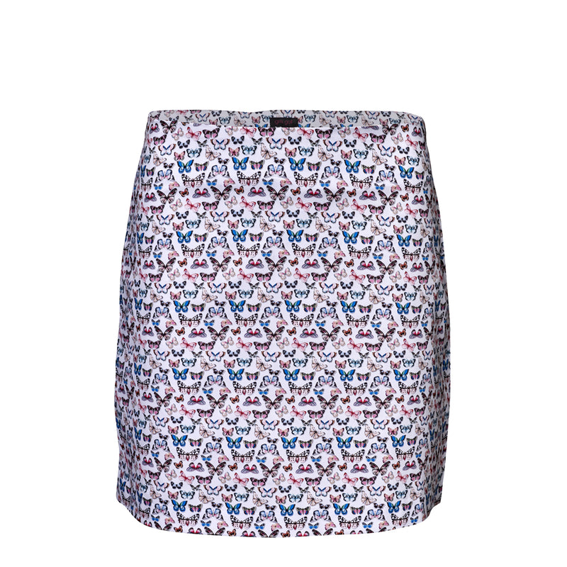 Girls Golf A-Line Butterflies Skort