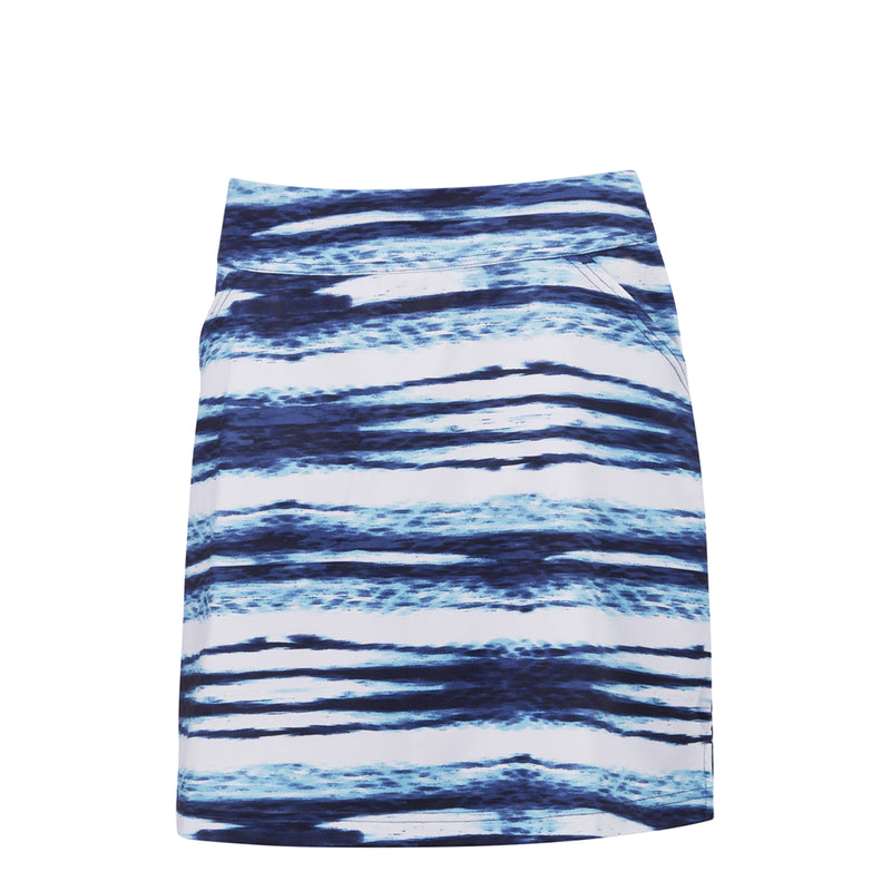 Callaway Printed Water Ripples Skort