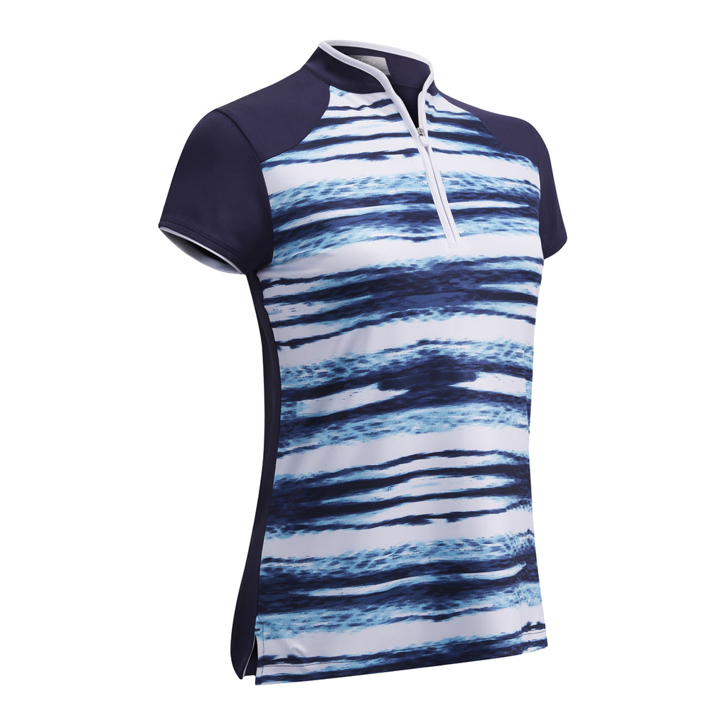 Callaway Printed Water Ripples Polo