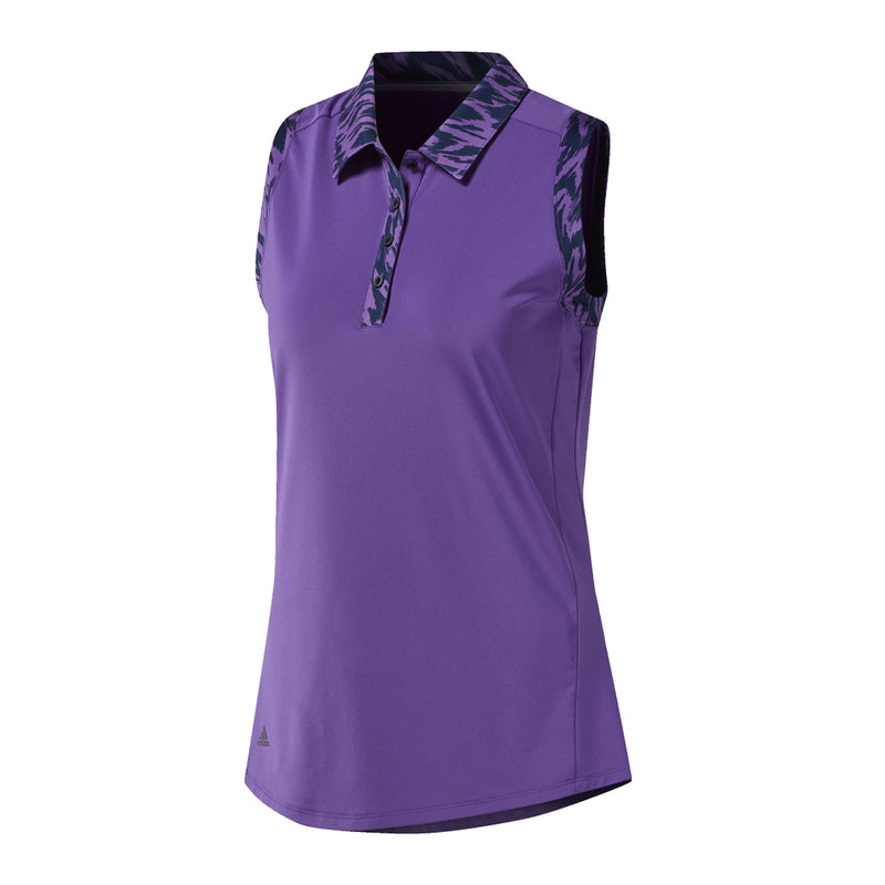 Adidas Ultimate Novelty Sleeveless Polo