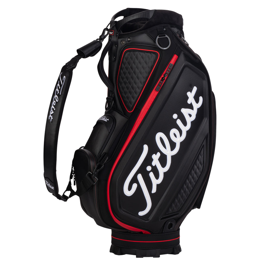 Titleist Jet Black Tour Staff Bag