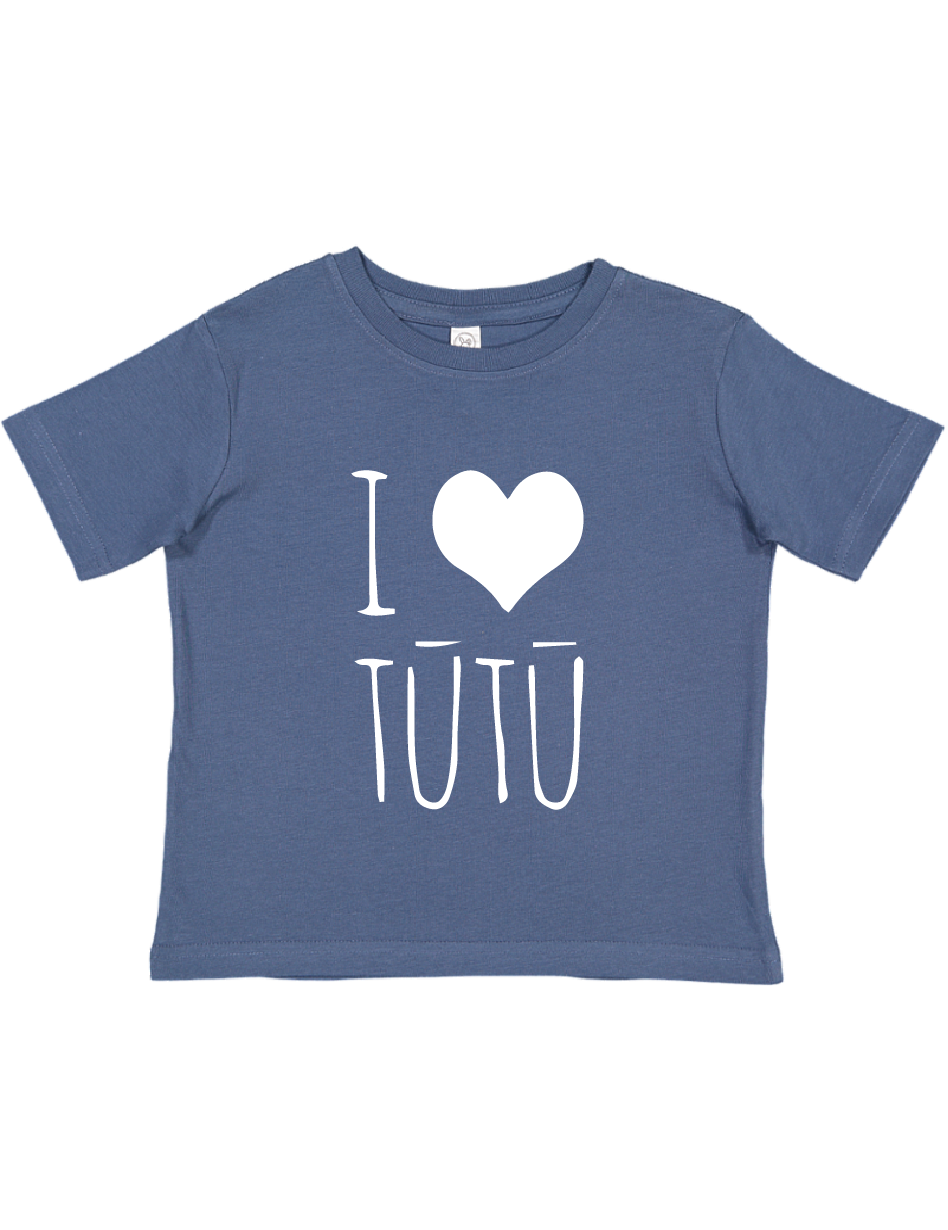 I Heart Tūtū Blue