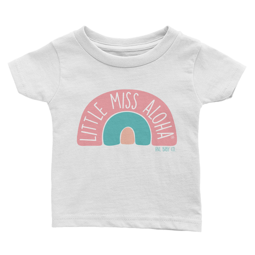 Rainbow Little Miss Aloha® Tee