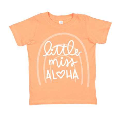 Little Miss Aloha® Rainbow Peach