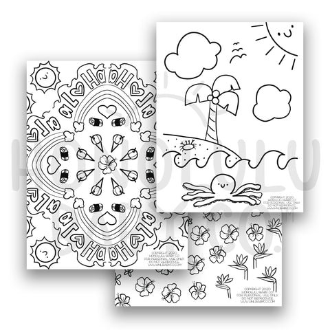 Coloring Sheet Bundle