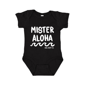 Mister Aloha Waves - Black