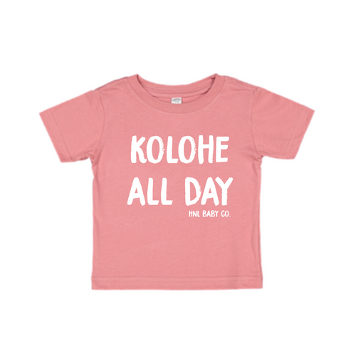 Kolohe All Day Tee-Pink