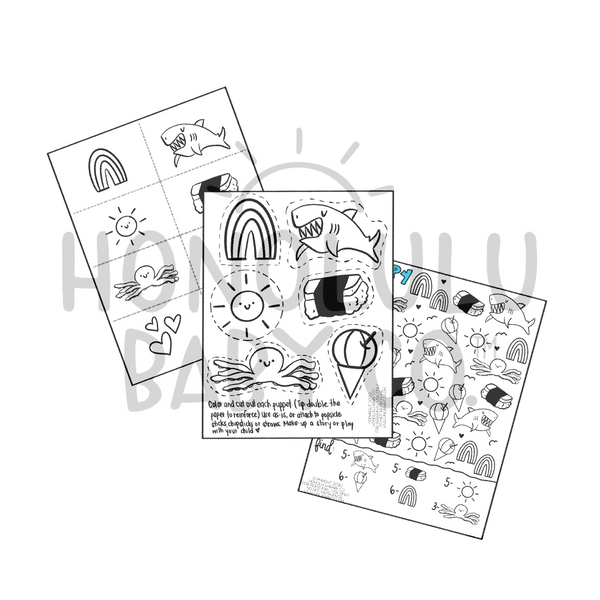 Printable Activity Bundle