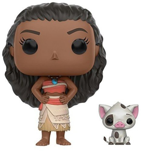 Pop! Disney: Moana - Moana & Pua Action Figure - Game X Change