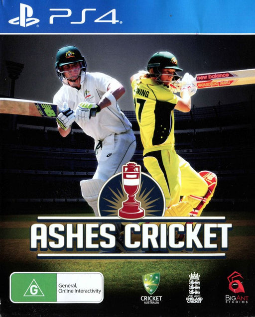 Ashes Cricket (PS4) - Game X Change