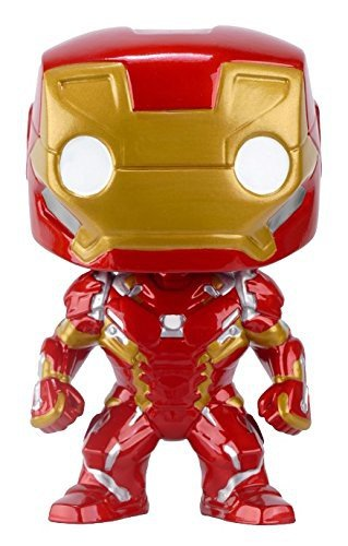 Pop! Marvel: Captain America 3: Civil War Action Figure - Iron Man - Game X Change