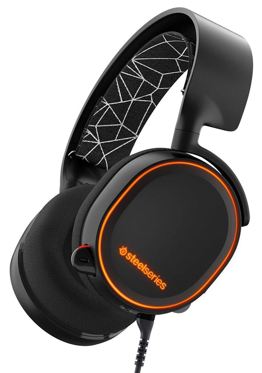 SteelSeries Arctis 5 Gaming Headset (Black) - Game X Change