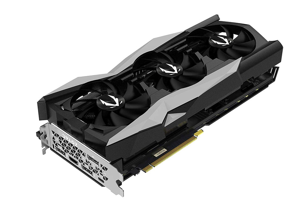 ZOTAC Gaming GeForce RTX 2080 AMP Extreme Core 8GB GDDR6 256-Bit Overclock Animated RGB 3 Fan Graphics Card - ZT-T20800C-10P - Game X Change