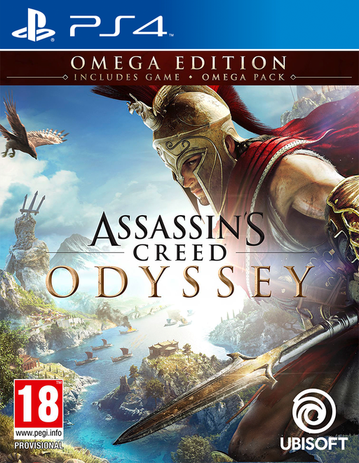 Assassin's Creed Odyssey Omega Edition (PS4) - Game X Change