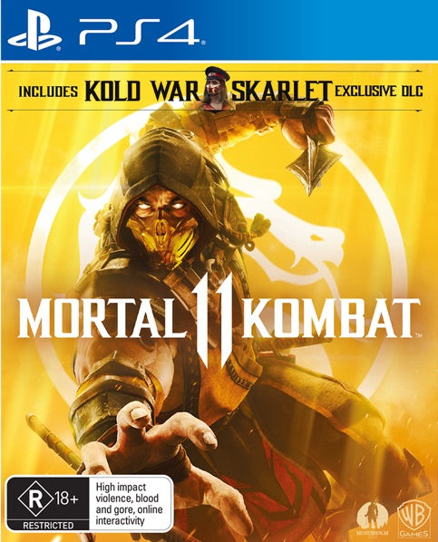 Mortal Kombat 11 (PS4) - Game X Change