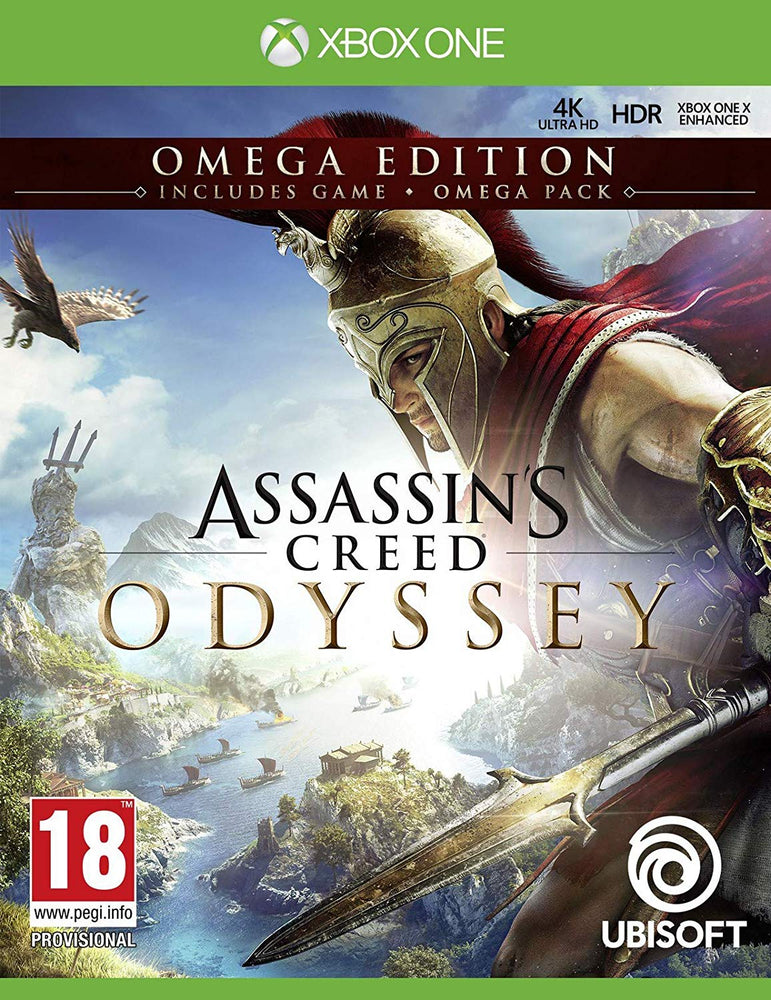 Assassin S Creed Odyssey Omega Edition Xbox One Gxc Interactive Technologies Private Limited