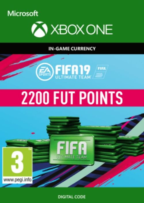 FIFA 19 Ultimate Team 2200 FUT Points (XBOX One) (Code) - Game X Change
