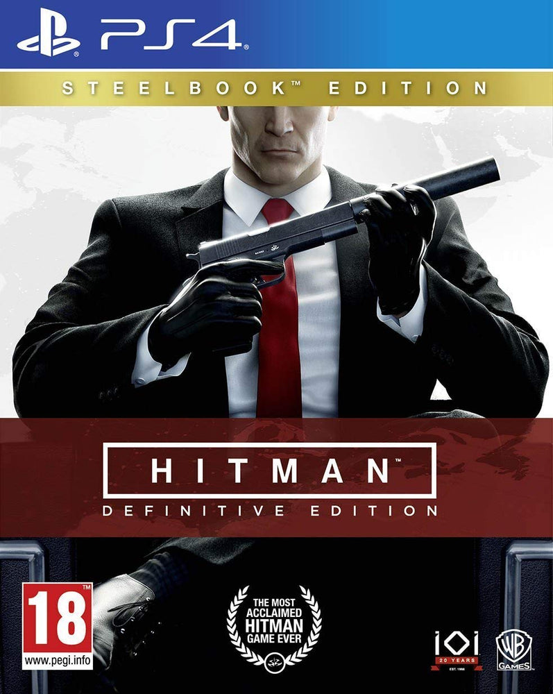 Hitman: Definitive Steelbook Edition (PS4)