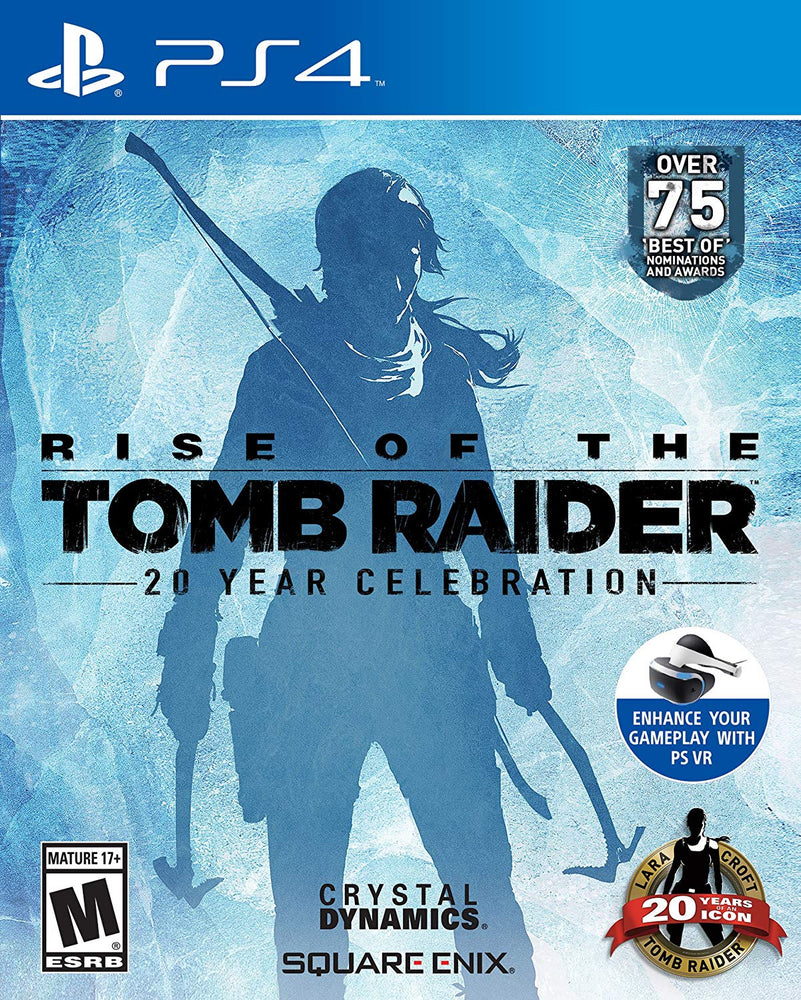 RISE OF THE TOMB RAIDER: 20 YEAR CELEBRATION [LIMITED ARTBOOK EDITION] (PS4)