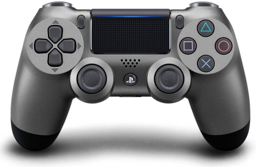 Sony DualShock 4 Wireless Controller V2 Bluetooth Gamepad (Steel Black, For PS4) - Game X Change