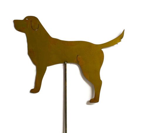 Labrador Retriever, Dog, Metal Yard Art, Garden Decor