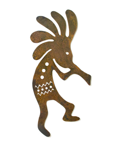 Kokopelli Southwestern Metal Rustic Wall Art, Home Decor, Garden Art, Yard, Outdoor, Indoor Decoration