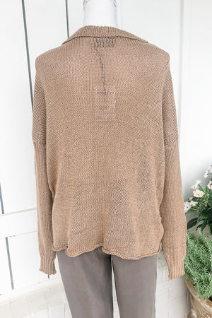 Star Slouchy Sweater