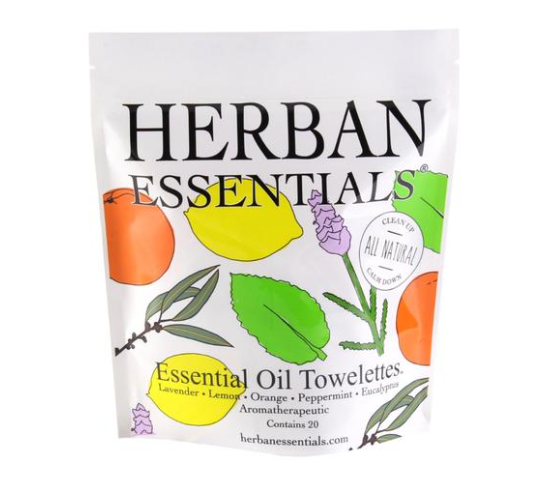 Herban Essentials - Assorted Towelettes